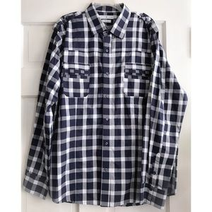 MENS FIVE FOUR Long-Sleeve Button Down